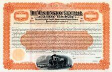 WASHINGTON CENTRAL RAILWAY COMPANY