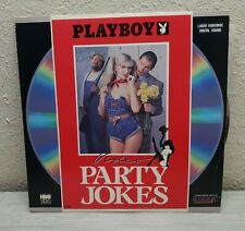 1989 PB Video Party Jokes Laser Disc TESTED
