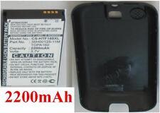 Coque+ Batterie 2200mAh type 35H00125-11M TOPA160 Pour HTC Rome