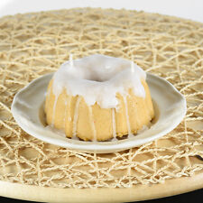 Handmade Mini Bundt Cake Candle - Butter Rum w/ Vanilla Icing Scented