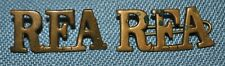 Wwi Royal Field Artillery Shoulder Titles