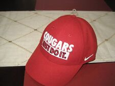 MENS NIKE DRI FIT WASHINGTON STATE WSU COUGARS JUST DO IT HAT/CAP  NWT