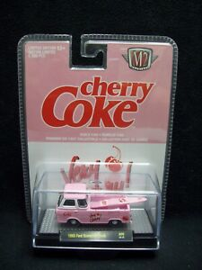 M2 Machines Cherry Coke 1965 Ford Econoline Truck Limited Edition.