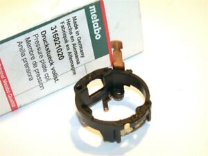 NEW METABO ELECTRIC DRILL PRESSURE PLATE BRUSH COLLAR 316021020