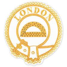 New Mark Provincial Full Dress Apron Badge  Any RANK any PROVINCE