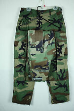 Lot of 2 Army BDU Uniform Rip Stop Pants Fatigue Woodland Camo Sm Short 30W 29L