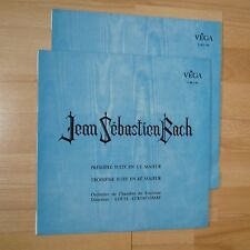 VEGA (2lps) / BACH / N°1 to 4 Suites / LOUIS AURIACOMBE