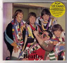 Beatles  CD - TALK DOWNUNDER VOL. 1 -  UK 1994 - 3-fach Faltcover Greeting Card