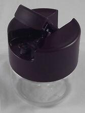 Tupperware Manhattan Essig Öl Flasche Behälter 200 ml Klar Lila Violett Neu OVP