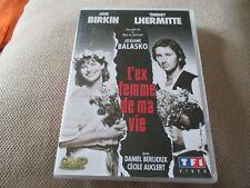"""DVD """"L'EX-FEMME DE MA VIE"""" Jane BIRKIN, Thierry LHERMITTE / theatre"""