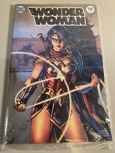 Wonder Woman 750 SDCC 2020 Exclusive Jim Lee Foil Cover NM-NM+ CGC It🔥Sold Out