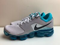 Nike Air Vapormax GS Womens Trainers UK 4.5 EUR 37.5 White Grey Blue 917963 011