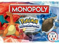 Pokemon Monopoly - Kanto Edition Board Game Melbourne Stock Pikachu Squirtle