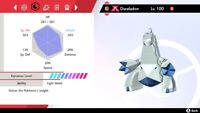 Shiny 6IV Gigantamax Duraludon For POKEMON SWORD and SHIELD