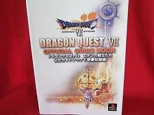 Dragon Warrior (Quest) VII 7 official guide art book/PS