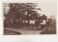 The Hall Birdbrook Essex Vintage RP Postcard 450b
