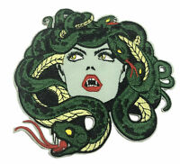 Medusa Head Embroidered Patch Iron/Sew-On Applique X-Files Cryptid Mystery