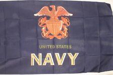 US Navy Large Letter Flag 3x5 ft USN Veteran Vet Retiree Active United States