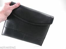 Targus En Negro De Cuero Ipad Slip Case + Protector