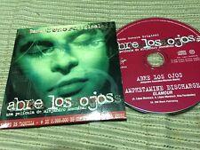 ABRE LOS OJOS BANDA SONORA CD SINGLE PROMO AMPHETAMINE DISCHARGE AMENABAR INDIE