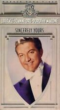 VHS Sincerely Yours: Liberace Joanne Dru Dorothy Malone William Demerest Tuttle