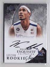 2012-13 Exquisite Collection Will Barton On Card Auto Rc (xxx/199) - QTY AVAIL