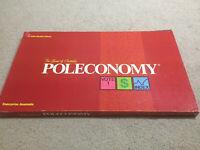Poleconomy Board Game Complete Vintage 1980 Australian Business Classic Retro