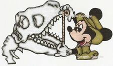 DISNEY DINOSAUR Mickey Mat Topper - Printed Scrapbook Page Paper Piece - SSFFDeb