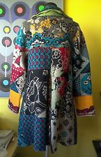 IVKO SALE, size 14,16 coat, long cardigan from pure soft wool