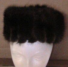 Antique Vintage Woman's Dress Hat! Fur By Sandy Braeburn New York Paris Nice!