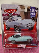 2015 Disney Pixar Cars JUMPSTART J. WARD✿Blue Jaguar E-Type✿2/7 Palace Chao