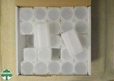 BOX OF 50 SQUARE MEDALLION TUBES - MEGHRIG - NO COINS