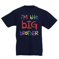 I'm The BIG Brother Funny present Kids bargain gift Boys tee T-Shirt Baby boy.