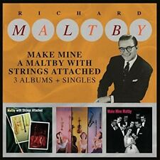 Richard Maltby - Make Mine A Maltby With Strings Attached 3 Albums [New CD] UK -