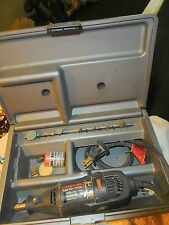 Dremel Moto-Tool rotary 275 Type 4 Single Speed 28,000 RPM w Case and bits