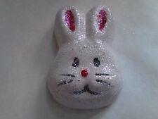 Mischievous Max. Bunny Shaped Strawberry Float Bath Bomb. Foaming Bath Bomb. XL