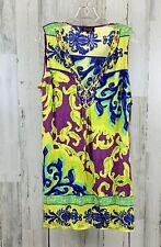 Hale Bob Women's 100% Silk Beaded Dress Size L NWT