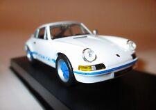 Porsche 911 RS 2,7 Entenbürzel weiß blau white blue HS / Deutsche Post 1:43 ovp!