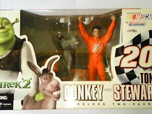 figurine shrek 2 donker tony stewart nascar mcfarlane