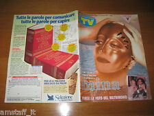TV SORRISI E CANZONI=1993/44=MINA=HEATHER PARISI=SUSANNA MESSAGGIO=