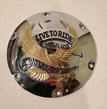 "Harley Davidson Live To Ride Timer Derby? Cover 7"""