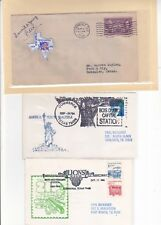 """#776 Commerce TEXAS Centennial 5/23/1936 """"Pageant"""" Cover + 2 others !!"""