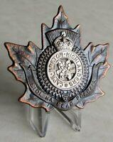 Canadian Army - The Cape Breton Highlanders Cap Badge Sydney N.S. CB.30 WWII WW2