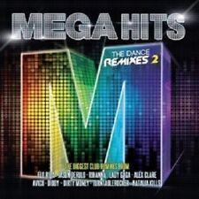 MEGAHITS-THE DANCE REMIXES 2 (2 CD) RIHANNA LOREEN LADY GAGA BRUNO MARS NEU