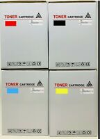 Kit 4 Compatible Toner Black Cyan Magenta Yellow With Phaser 7400N/7400DN/