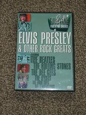 ED SULLIVAN : ELVIS PRESLEY & OTHER ROCK GREATS DVD - IN VGC  (FREE UK P&P)