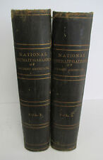 1860s NATIONAL PORTRAIT GALLERY of EMINENT AMERICANS, Alonzo Chappel, 2 Vols