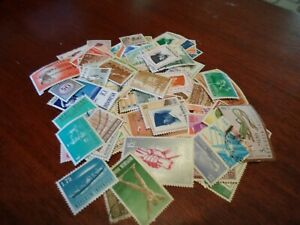 Collection lot 140 different stamps of Indonesia