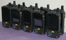 Lot of 10 Motorola Mc75A8/Mc7598 Laser Barcode Scanner Pda Mobile Computer-Good