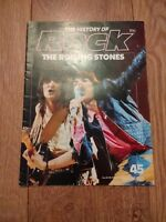 THE HISTORY OF ROCK MAGAZINE ~ VOLUME 4 ISSUE 45 EXCELLENT ROLLING STONES